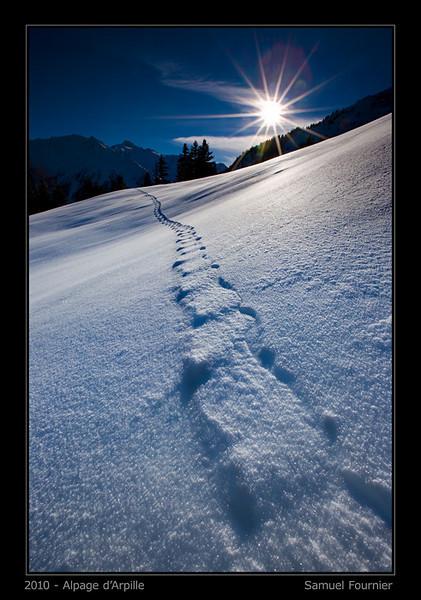 Mont d'Arpille - Valais - Décembre 2010