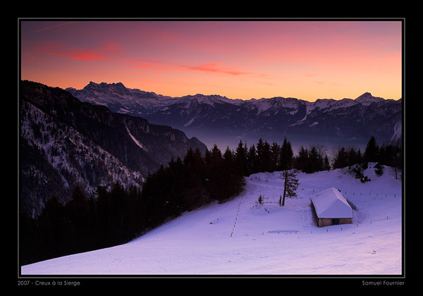 Creux à la Sierge - Vaud - Décembre 2007