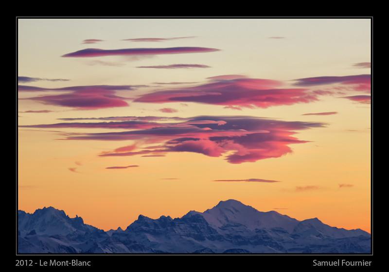Le Mont-Blanc - France - Décembre 2012