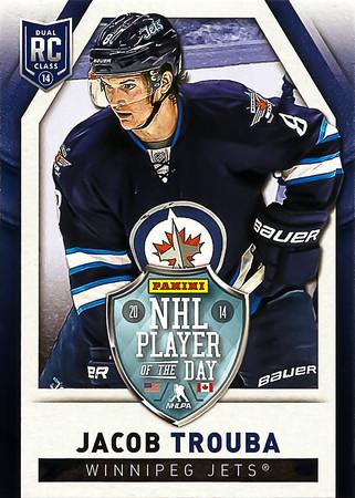 2013-14 Panini NHL Player of the Day Trouba