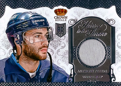 2013-14 Panini Crown Royale Heirs Peluso Jersey