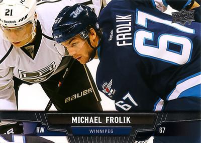 2013-14 UD Frolik