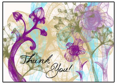 Custom Designed Art Card by Carla