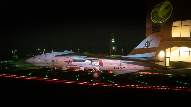 Navy fighter, F-14 Tomcat, at the Reagan Library