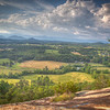 A mid June afternoon view from the Northwest Face of Glassy Mountain near Pickens, South Carolina.<br /> <br /> ~ Image by Martin McKenzie, all rights reserved ~<br />  © copyright digitally watermarked / filigrane numérique copyright ©