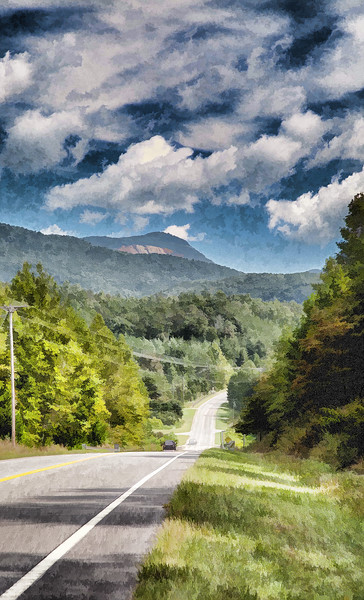 Impressions of the Cherokee Foothills National Scenic Highway in Pickens County, SC near Table Rock State Park during a mid-September drive.<br /> <br /> ~ Image by Martin McKenzie, all rights reserved ~<br />  © copyright digitally watermarked / filigrane numérique copyright ©