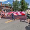 Fourth of July parade in Breckenridge, Colorado.