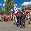 Fourth of July Parade in Breckenridge, Colorado.