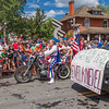 Fourth of July parade at Breckenridge, Colorado.