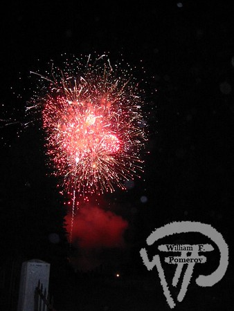L. W. PACKARD BALLFIELD — fireworks ~ july 4th . . . direct and distant Ashland, NH — 2004 / 2007