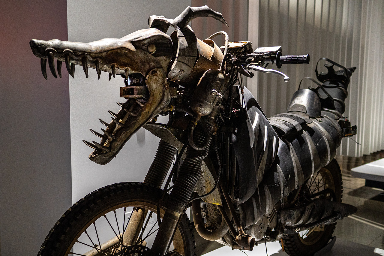 Biker Hound motorcycle ridden in the movie A.I. Artificial Intelligence.