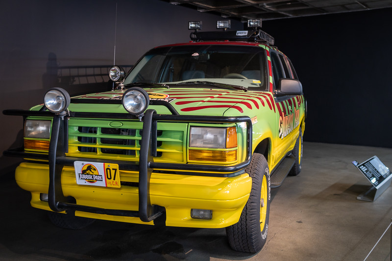 Replica of the Jurassic Park (1993) Ford Explorer XLT Tour Vehicle #07