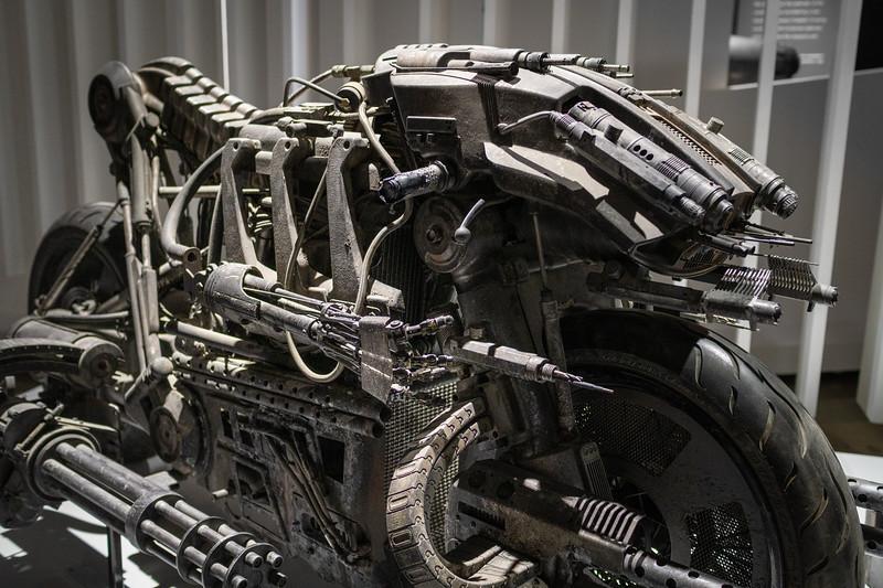 2017 Skynet Moto-Terminator from the movie, Terminator Salvation.