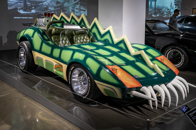 A replica of The Alligator from the 1975 movie Deathrace 2000.!