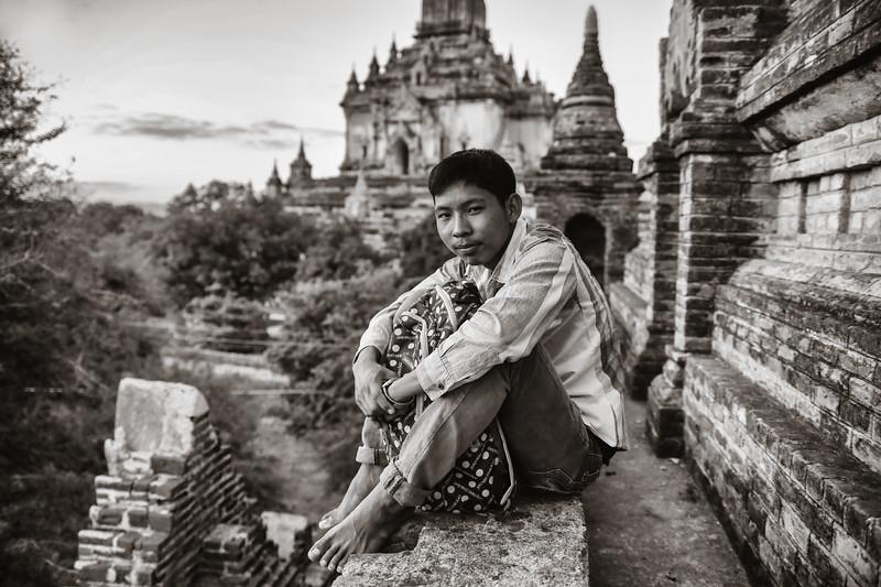 Lili, boy of Bagan