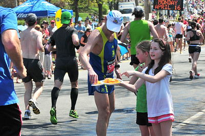 2012-Boston Marathon Heat Wave - Newton Spray