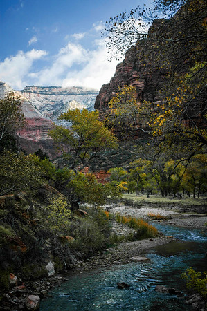 Towards Mount Carmel, Zion NP