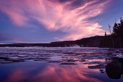 20090525-Twilight and Ice at West Thumb-2-Edit