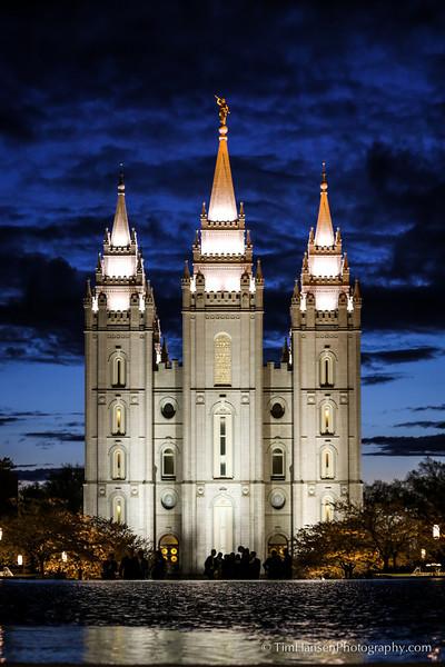 Salt Lake City Temple, LDS, Mormon