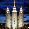 Salt Lake City Temple, LDS, Mormon