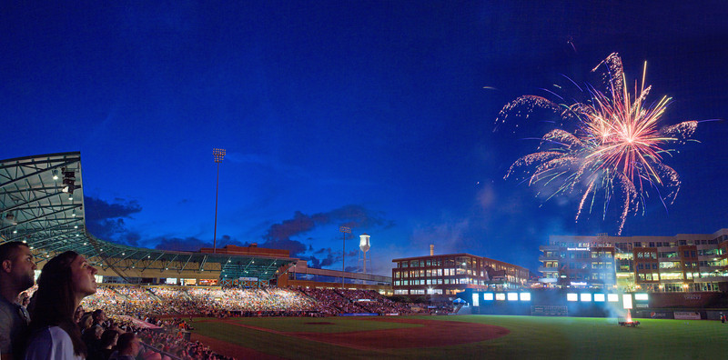 Durham Bulls: 4th of July