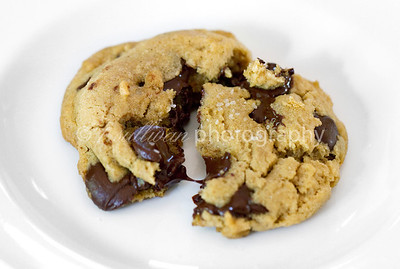 Brown Butter Bourbon Chocolate Chip Cookies