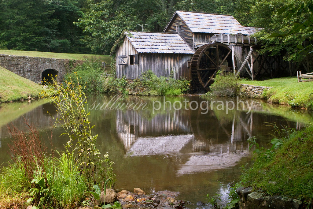 Mabry Mill and pond