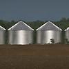 corn bins