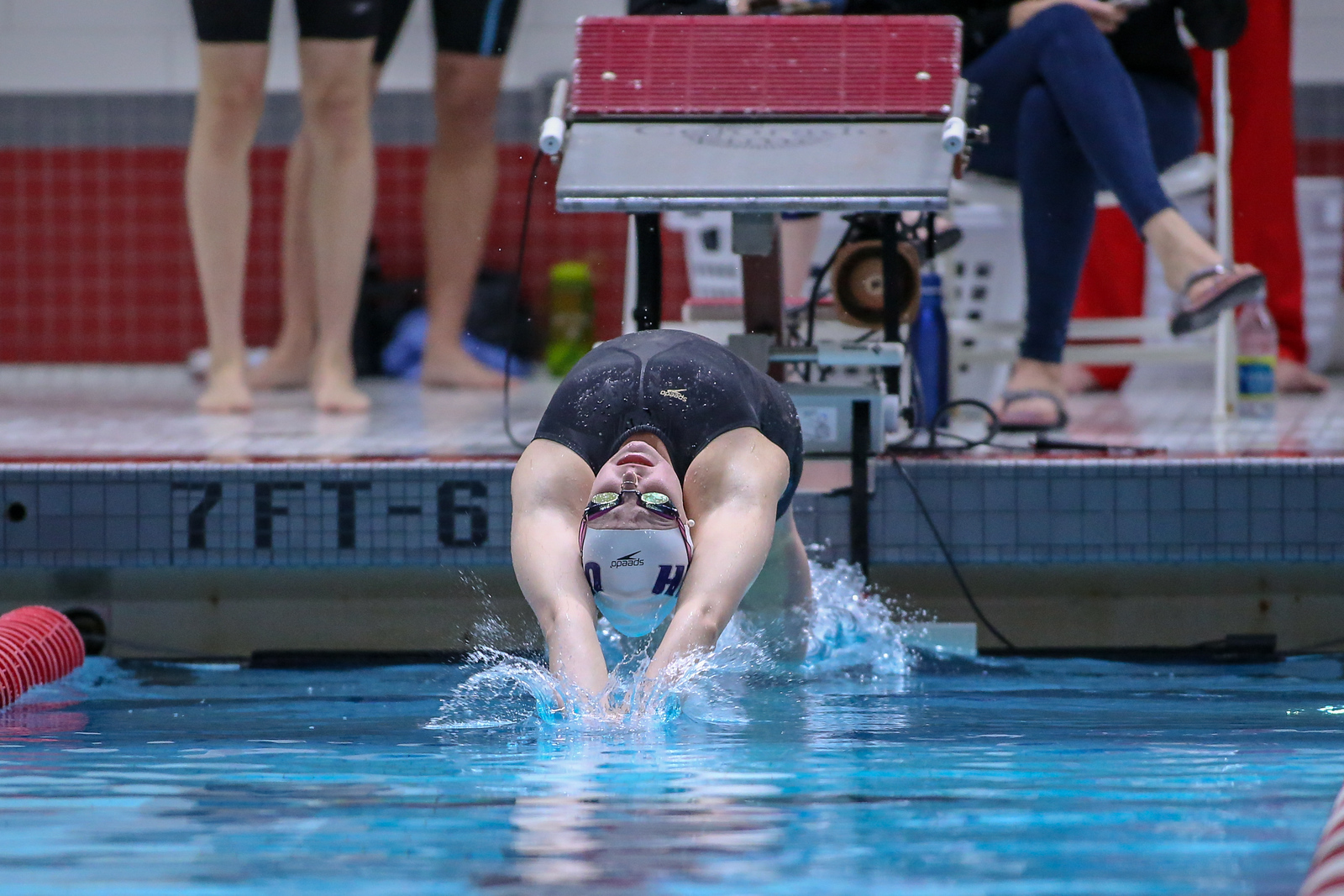 2018 America East Swimming and Diving