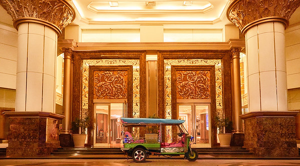 The Berkeley Hotel Pratunam and Tuk Tuk