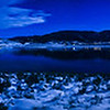 Stagecoach Reservoir under a full moon. - Where the family and I spent this Thanksgiving.