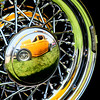Another shot from the car show of some sweet rim reflections.