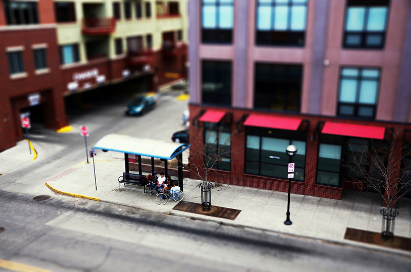 This was my first shot at Tilt Shift photography.  Turning the world into my own diorama.  I don't know if I like the composition too much, but for my first try, I feel I got the results I was looking for.