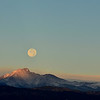 Tried to get the moonset as best as I could going behind longs peak.  Had I driven a few more miles south I could have gotten directly on the peak itself.  Next full moon :)