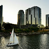 Sailing on the Willamette River