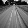 Still in a black and white mood haha - Here is an old dirt road by my house.