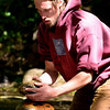 """I haven't had much practice with portraits so I thought i'd try and get a shot of this guy who was making cairns up and down Boulder Creek.<br /> <br /> <a href=""""http://www.lohrphoto.com/People/People/14326519_tr2u9#1318079217_fGjCznC-A-LB"""">http://www.lohrphoto.com/People/People/14326519_tr2u9#1318079217_fGjCznC-A-LB</a> this is another photo that shows how busy he was!"""