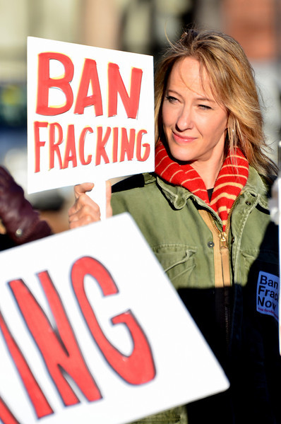 The hot topic here in my county - To let big oil come in and do hydraulic fracturing to extract the natural gasses beneath the cities in the county.  Protests are popping up left and right :)