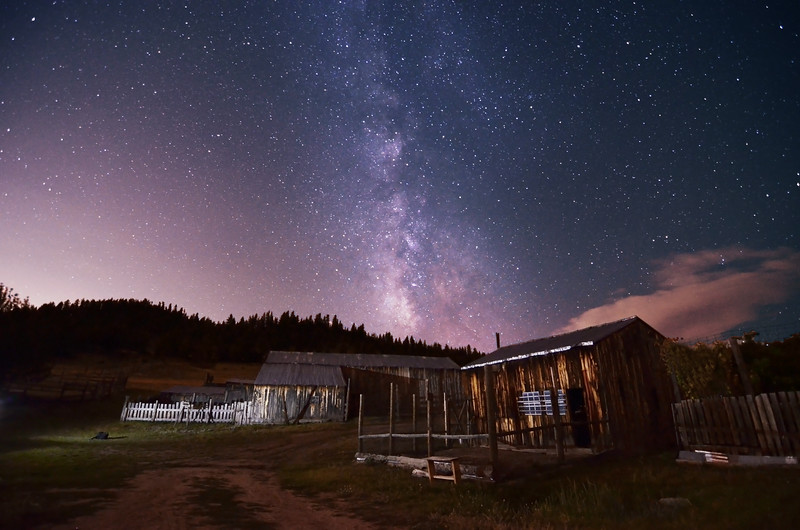Walker Ranch and the milky way2