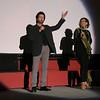 George Chakiris speaks with Debra Levine at an Academy screening of Gentlemen Prefer Blondes. Oscars Outdoors.