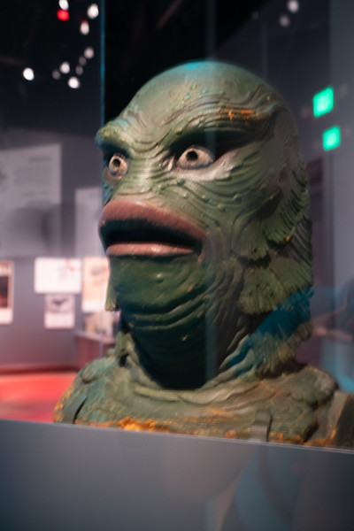 Milicent Patrick's mask for the Creature from the Black Lagoon