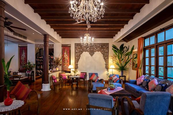Na Aroon Vegeterian Restaurant, Ariyasom Villa Boutique Hotel Bangkok