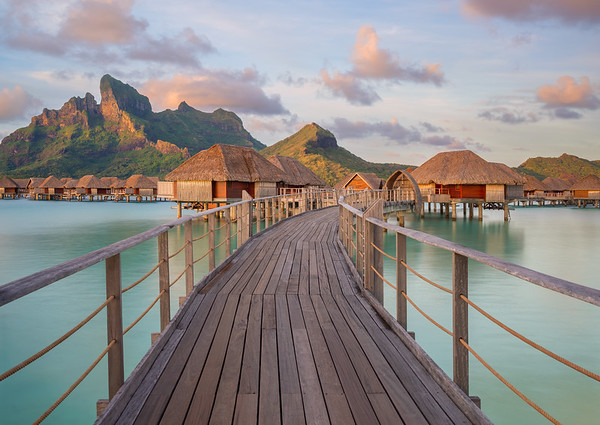 Four Seasons Resort, Bora Bora, French Polynesia (2017)