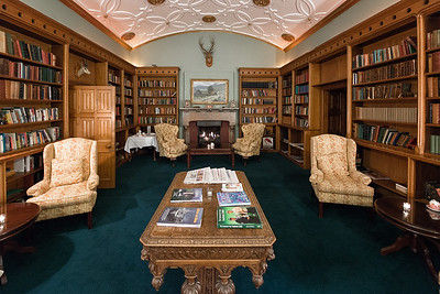 Library.  Adare Manor, Ireland