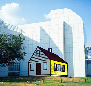 Roy Lichtenstein House, High Museum, Atlanta, GA.