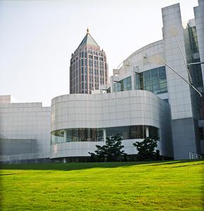 One Atlantic Center and High Museum, Midtown Atlanta, Georgia.