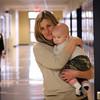 Nurse Laura, with Uriah