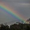 10-21-16 : full spectrum rainbow, as I left work