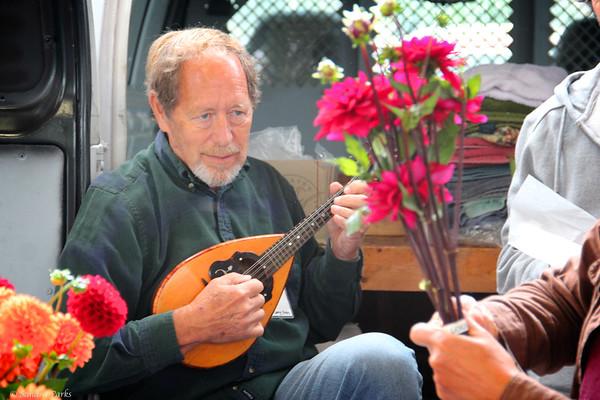 Phil Easley, at the Harrisonburg Farmer's Market