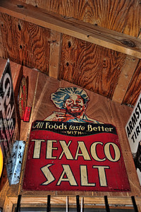 Texaco salt - never heard of that before!!!